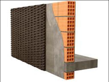 活性碳波浪板牆面應用吸音隔熱